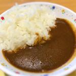 佐野サービスエリア(上り線) スナックコーナー - カレーはお皿が可愛すぎ(笑)