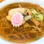 佐野サービスエリア(上り線) スナックコーナー - 透き通ったスープ、綺麗ですね。