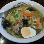 ラーメン天狗 - 料理写真:タンメン(塩)