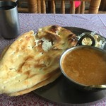 タージマハール - 料理写真:ランチチキンカレー