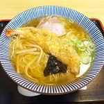 大盛庵 - 料理写真:天中華(¥800)。並でも海老天の大きさは十分、胡麻油の香ばしい風味