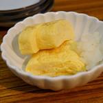 天ぷらとワイン 小島 - 玉子焼き