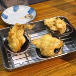 天ぷらとワイン 小島 - 大アサリ