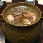 58117731 - 鴨肉の壺煮スープ 天然の朝鮮人参と