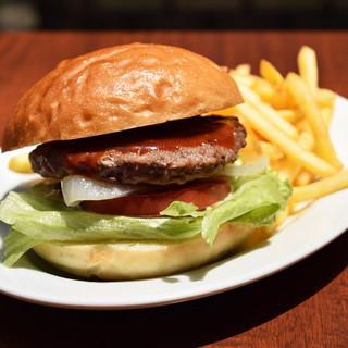 ★★お昼はハンバーガー♪★★