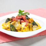 あっぷるぐりむピッツェリア - 料理写真:【11月限定】キノコたっぷりかぼちゃソースパスタ