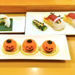 江戸翔 - 荒川マイスターの飾り寿司。       単品注文はできません。