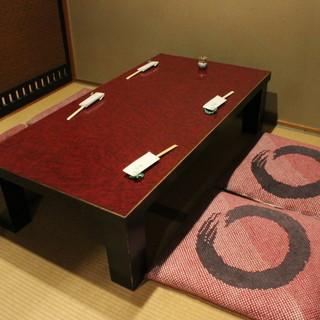 【1F】純和風のカウンター&座敷