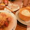 歓歓   - 料理写真:セットの焼豚まん