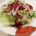 58120878 - お通し                       水菜、キャベツ、トレピス、サラダ菜