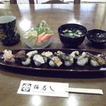 梅寿し - 料理写真:綺麗に並んでいます