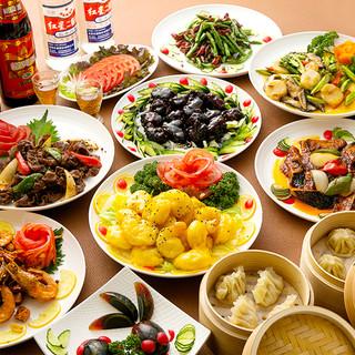 オーダーバイキングは2,980円~◎モンゴル料理もございます