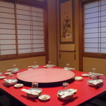 北京 - 食事会の予約をしたら、みんなで囲んで座れるように用意してもらえました!