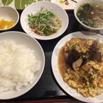 58122378 - 五目玉丼定食  900円(2016.10月)