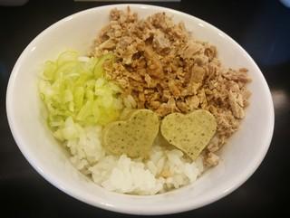 のじじ - ニポバタご飯 200円