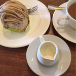 コバタルーム - モンブラン+コーヒー