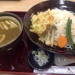 大栄 - 七福カレー汁うどん 大盛