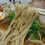 和 dining 清乃 - 恐らく自家製麺!これが良くスープに絡み美味しかった