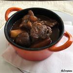烹菜厨房 呵々 - 料理写真:黒毛和牛のビーフシチュー