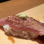 琉球鮨 築地青空三代目 - 本鮪大トロ炙り