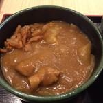 ゆで太郎 - カレー丼セットのカレー丼
