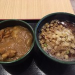 ゆで太郎 - カレー丼セット@360円