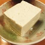 大本豆腐店 - 冷や奴で!
