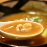 丁字屋 - 和だしがよく効いた濃厚なカレースープ