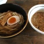 酒麺房 さの屋 - 鶏白湯鰺醤油つけ麺(税込780円)