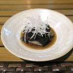 恵比寿 箸庵 - 秋茄子の煮浸し