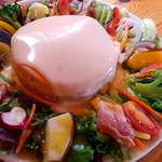 森のVoiVoi - 料理写真:チーズフォンデュパンケーキ