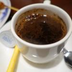ワヤン バリ - (2016/9月)ランチにつくドリンクはコピバリ(インドネシアのコーヒー)を選択