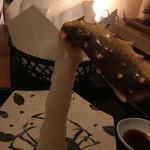 赤坂 きた福 - 生蟹の足お刺身