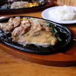 栗の里 - 料理写真:グリルドチキン中