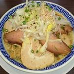 大勝軒まる秀 - 29日 肉の日 限定ラーメン 肉三昧 大盛(無料)
