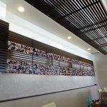 アーチ カフェ - 初来店の記念写真