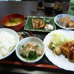 よし・お食事処 - 料理写真:日替わり定食(2回目)