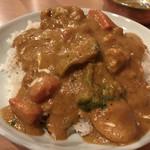 ムーンライト レストラン&バー - ミックス野菜 これが普通のカレーに近い