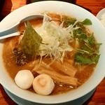 麺や来味 - 麺や来味@大形店(新潟市) 醤油らぁ麺