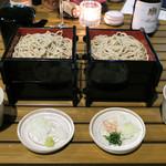 恵比寿 箸庵 - せいろとクルミだれ