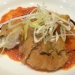 58142176 - 真鯛のフリット 宮崎県産新生姜風味のトマトソース