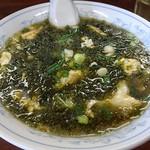アモイ - 岩のりラーメン 醤油味