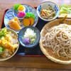 聖人そば房 たつみ - 料理写真:そば膳 950円