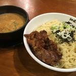 らーめん神月 - 濃厚味噌つけ麺 麺3玉軟骨チャーシュートッピング¥780+¥210