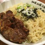 らーめん神月 - 料理写真:つけ麺3玉 軟骨チャーシュートッピング