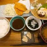 MORI-MESHI 小田原 - アジフライと生ゆば定食(ランチメニュー)