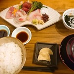 MORI-MESHI 小田原 - お刺身定食