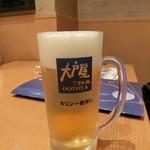 大戸屋 - 生ビール 498円