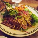 Hawaiian Restaurant ALOHABABY - 2016/10 おつまみビフテキ ¥1500