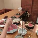 レストランちんや亭 - Oct 2016' しゃぶしゃぶとすき焼